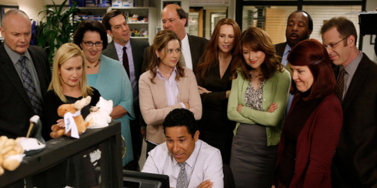 The cast of The Office