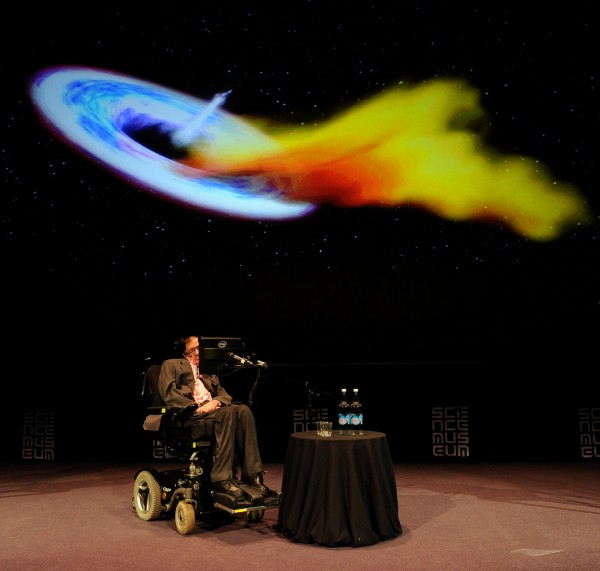 Professor Stephen Hawking during a talk at the Science Museum, London, in 2013 (Andrew Matthews/PA)