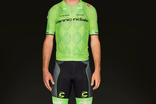 Cannondale Pro Cycling Team unveils new jersey... at last - Cycling ... 5c0c69b62