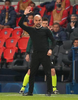 Paris Saint-Germain v Manchester City – UEFA Champions League – Semi Final – First Leg – Parc des Princes