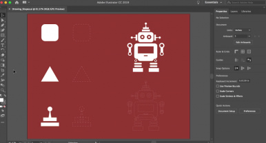 Illustrator tutorials: create and edit shapes