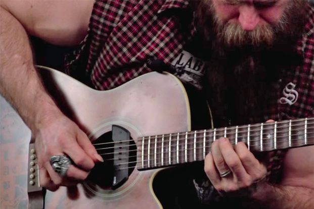 Zakk Wylde's Acoustic Chicken Pickin' Lick Lesson