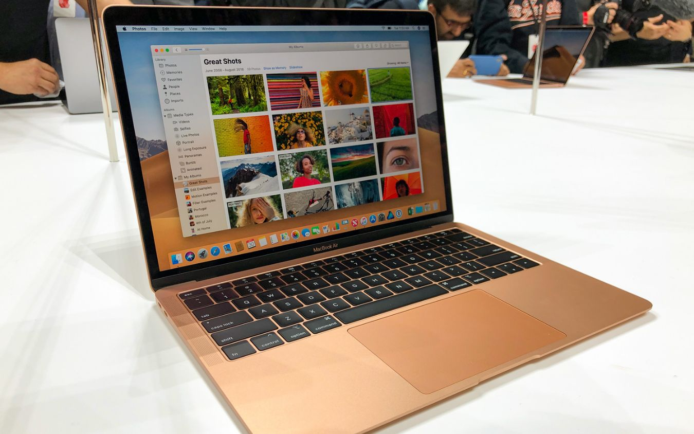 MacBook Air 2018 Hands-on: All the Right Upgrades, But Pricey | Laptop Mag