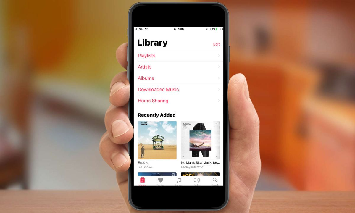How to Edit the Library List View in Music - iOS 10 Music