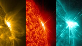 Solar Flare of March 12, 2014 in Colors