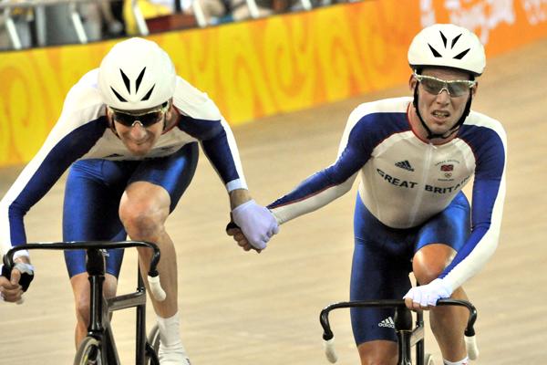 Mark Cavendish Bradley Wiggins track Beijing Olympics