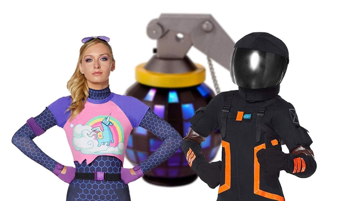 Fortnite Halloween Costumes And Accessories Turn You Into Dark