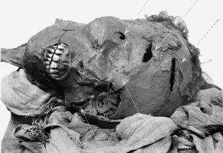 egyptian pharaoh's head