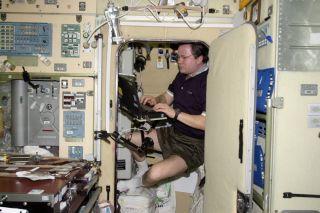 Cosmonaut Nikolai Budarin's Sleep Station