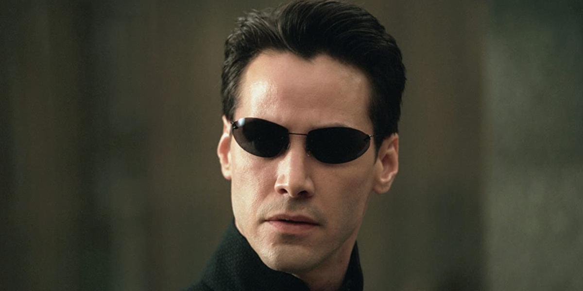 Keanu in The Matrix Reloaded