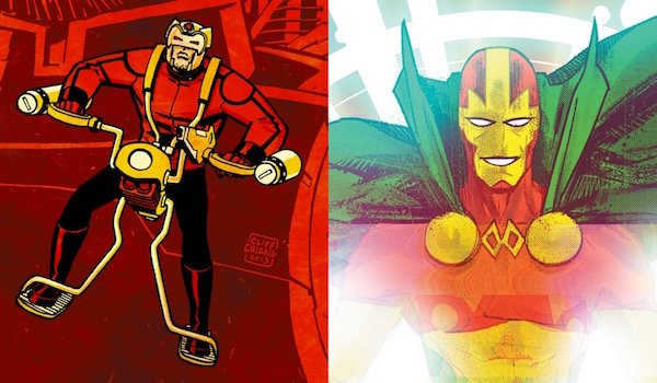 Orion and Mister Miracle in DC Comics