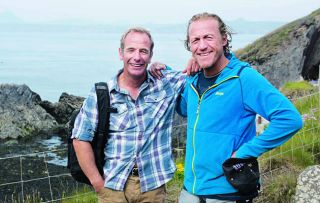 Robson Green and Jerome Flynn are back together for this second part of Robson's coastal caper...