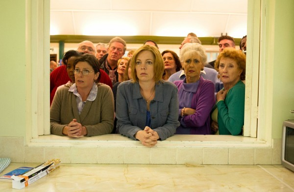 Olivia Colman and her London Road co-stars