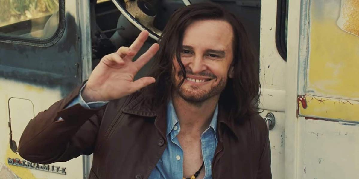 Damon Herriman's Charles Manson in Once Upon a Time in Hollywood