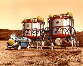 Micromachines to Produce Propellant and Air on Mars