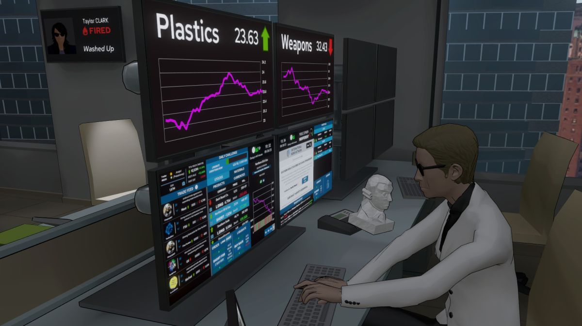 I'm making millions while going morally bankrupt in this stock trading sim