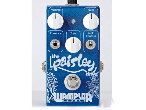 The pedal offers a great range of blues, country and Americana tones.