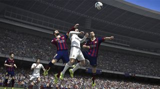 FIFA 14 graphics on Xbox One