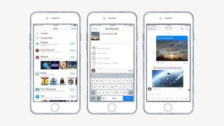 Dropbox Facebook Messenger