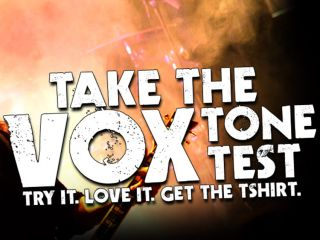 Get yourself a free t shirt in exchange for trying a Vox amp
