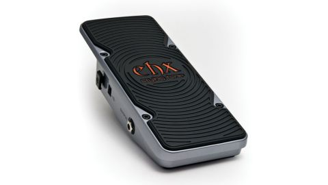 Electro-Harmonix has attempted to make a more reliable wah pedal by removing all moving parts from the equation