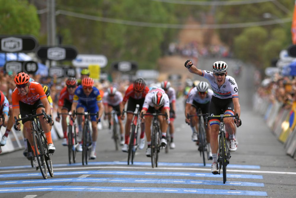Defending champion Daryl Impey wins stage four of Tour Down Under