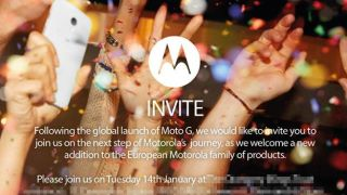 Moto X to become part of the European family at UK launch on January 14