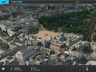 London in all its Ovi 3D glory