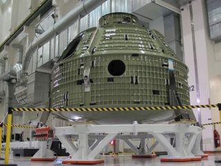 Orion Capsule Requires Repair
