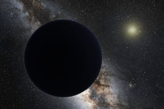 Planet Nine art