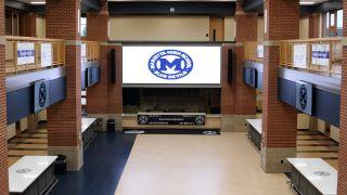 LG displays at Marietta High School