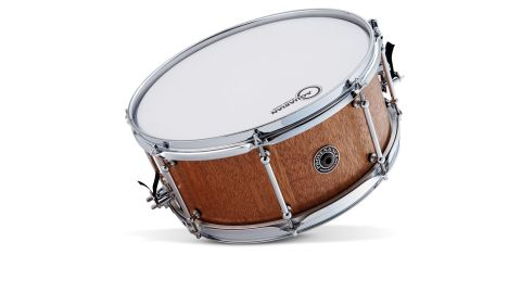 The drum is made from Philippine mahogany or lauan, salvaged from decommissioned aircraft carrier the Ark Royal