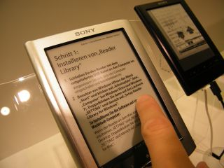 Sony Readers - already touchscreen, what's next?