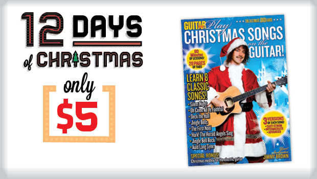 get the how to play christmas songs on the guitar dvd now 66 off guitarworld - Classic Rock Christmas Songs