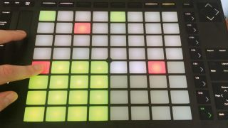 How to perform MPC-style sampling tricks using Ableton Push