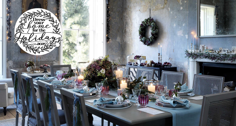 Christmas Dining Room Ideas Christmas Dining Room Decor Homes Gardens