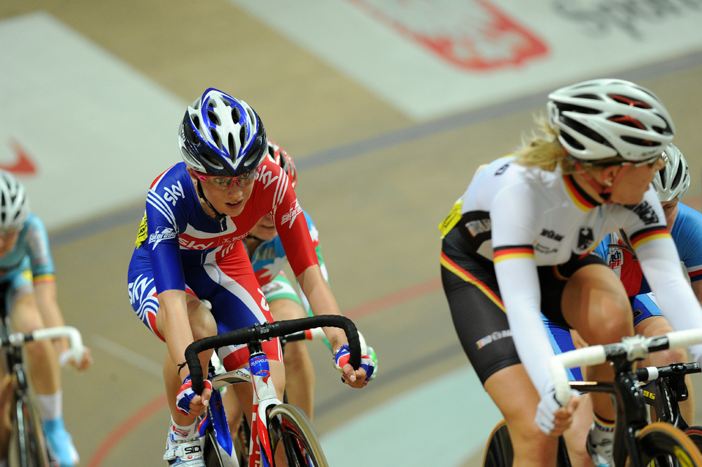 Laura Trott, omnium, European Track Championships 2010, day two