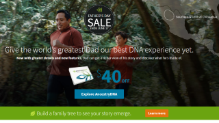 AncestryDNA deal