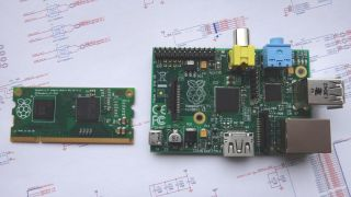 Raspberry Pi Compute Module and IO Board