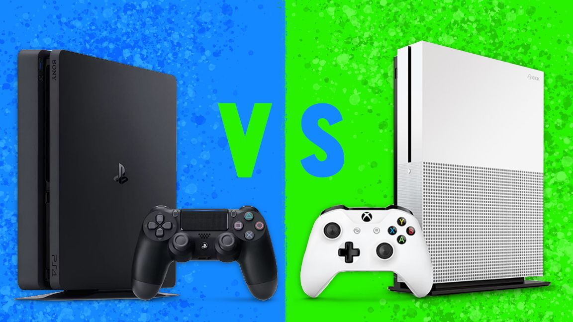 xbox one s vs ps4 slim price 4k performance comparison techradar. Black Bedroom Furniture Sets. Home Design Ideas