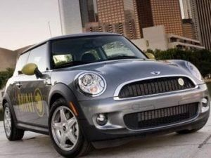 BMW's new Mini E boasts an impressive 95mph top speed and 150 miles on a full charge