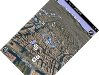 iPhone Google Earth