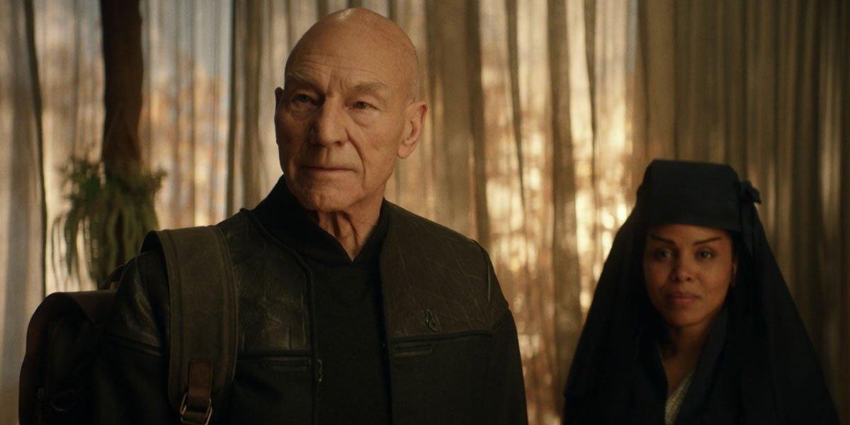 Patrick Stewart in Star Trek: Picard on Paramount+.
