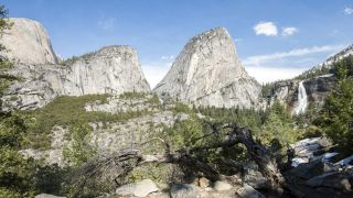 who was john muir: Yosemite from the John Muir Trail
