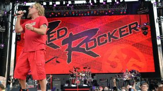 Sammy Hagar performs during the Oklahoma Twister Relief Concert to benefit United Way of Central Oklahoma May Tornadoes Relief Fund