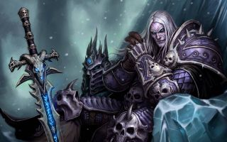 Arthas Death Knight World of Warcraft