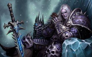 Arthas Death Knight World of Warcraft