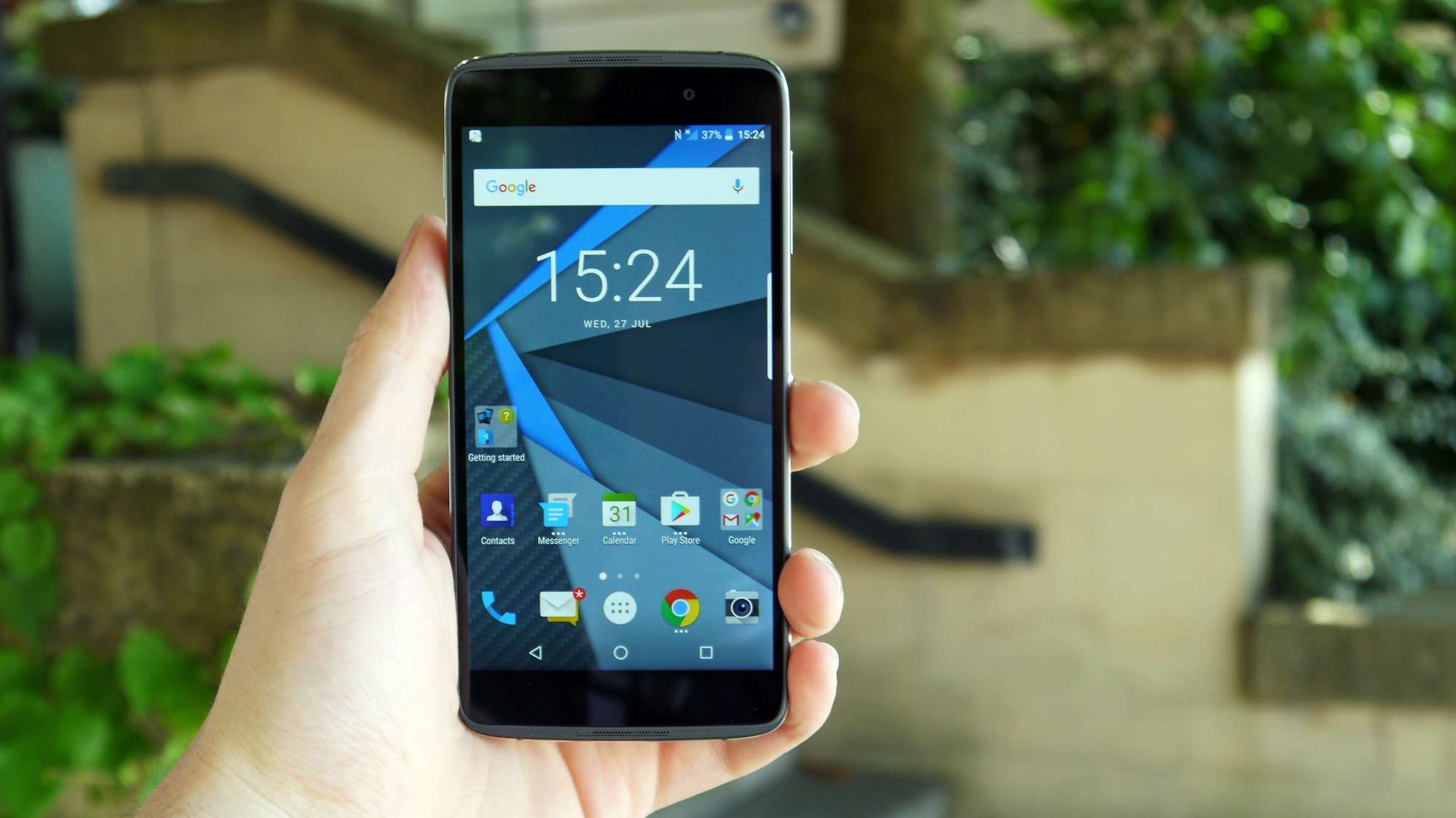 We challenged Samsung and BlackBerry over their Android