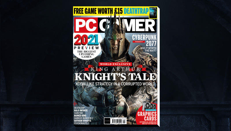 PC Gamer UK February issue: King Arthur: Knight's Tale