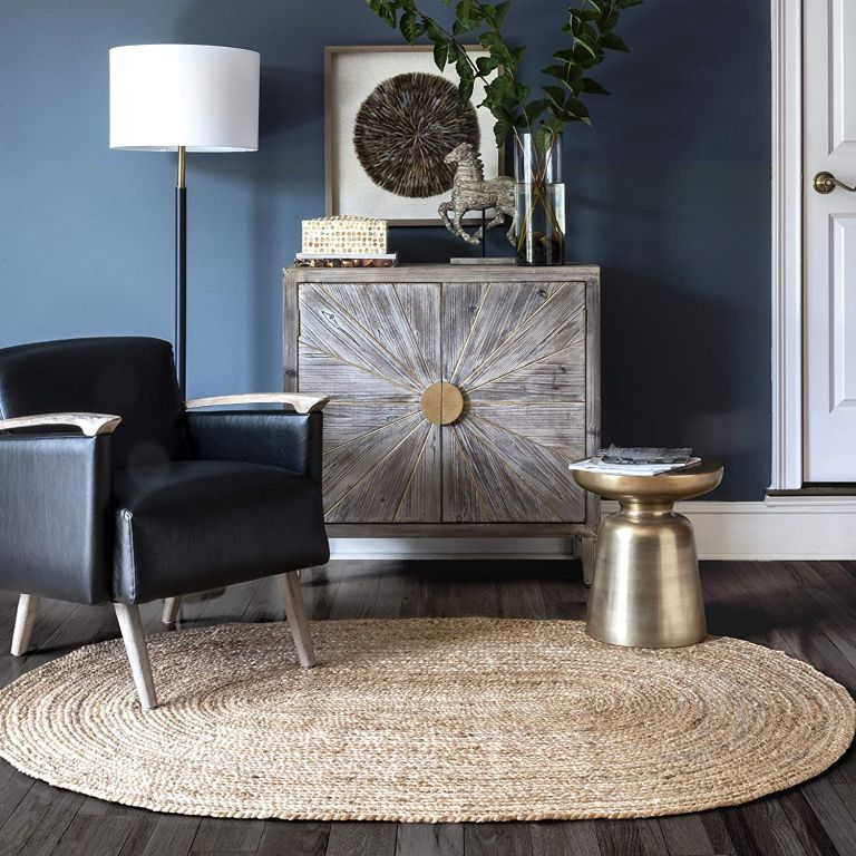 nuLoom Jute Oval rug from amazon discount code